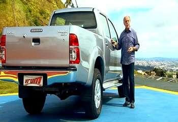 Teste:  Toyota Hilux flex cabine dupla