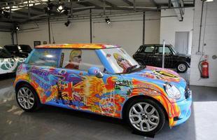 Pinturas especiais e veículos que foram protagonistas de filmes estiveram entre as atrações do encontro