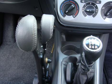Prolongamento de acelerador e freio