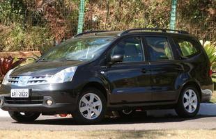 Nissan Grand Livina com câmbio automático tem preço inicial de R$ 54.890 (básico)
