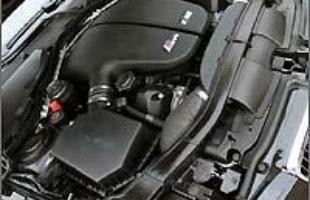 Motor V10 5.0 do M5, com 550 cv de potência