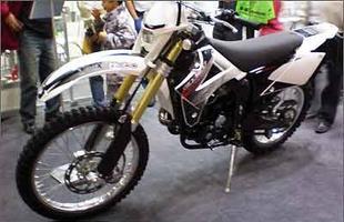 Gas Gas protótipo 250 4T a ar