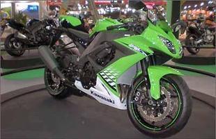 Kawasaki ZX 10R 2010 - estreia mundial