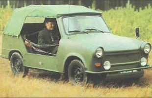 O Kubelwagen, jipinho funcional criado para o exército da Alemanha Oriental