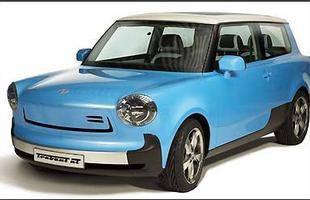 O modelo agora é um hatchback e segue o estilo dos compactos retrô como o Mini Cooper, até na pintura do teto