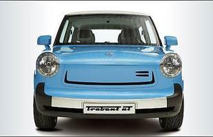 O conceito Trabant n T foi apresentado pela fabricante de miniaturas alemã Herpa em Frankfurt