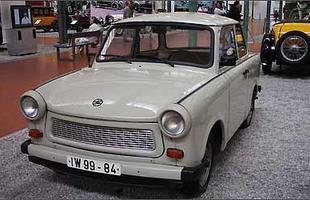 Trabant 601 no Museu Nacional do Automóvel em Mulhouse, França