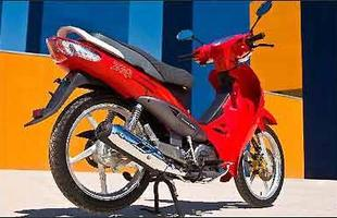Design lembra o da antiga Yamaha Crypton