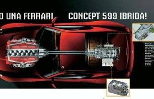 A Ferrari promete para março, no Salão de Genebra, uma versão híbrida do cupê 599 GTB