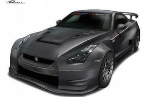 A japonesa Runduce irá levar ao Salão de Tóquio uma versão personalizada do bólido Nissan GT-R