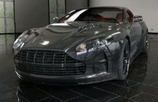 A preparadora alemã Mansory apresentou o Cyrus, uma versão modificada do Aston-Martin DBS