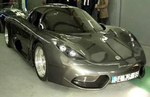 O superesportivo turco Onuk Sazan pode ser equipado na versão de produção com o V6 3.5 biturbo do Nissan GT-R