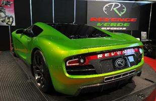 O modelo compartilha a base com o descontinuado Ford GT