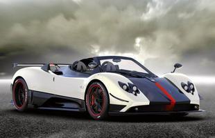 Tal como a versão cupê, o Pagani Cinque Roadster está disponível em apenas cinco unidades - daí o nome Cinque