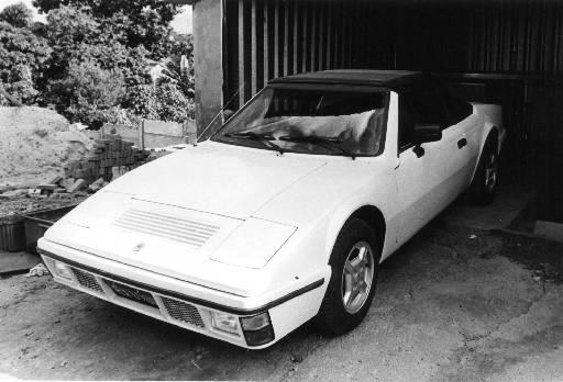 A carroceria conversível só chegou a mercado em 1985 - Farus/Divulgação