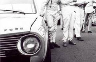 Emerson Fittipaldi e Boris Feldman no Corcel número 74