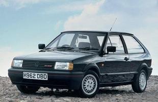 O primeiro Polo de alto desempenho - na versão reestilizada de 1990 - contava com um motor 1.3 com compressor volumétrico e 113 cv