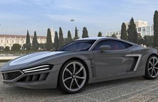 O desenho anguloso do novo Hispano-Suiza não dá muitas pistas da base original