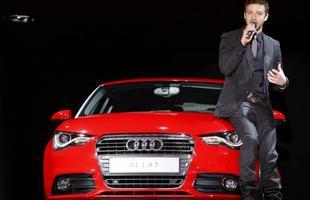 O astro pop aumentou o ibope do compacto, criado para enfrentar o britânico Mini, marca que pertence a BMW