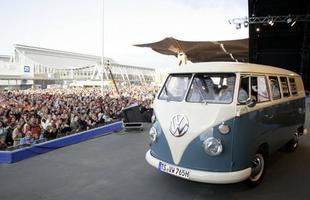 Evento de comemoração dos 60 anos da Kombi, realizado em Hanover, Alemanha