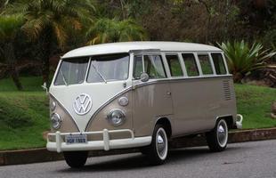 Uma bela Kombi 1500 1969 em perfeito estado de conservação