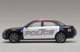 O E7 foi o primeiro modelo criado especialmente como carro patrulha