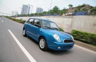 O estilo do Lifan 320 evoca os Mini Cooper, mas sob o capô o compacto traz um 1.3 16V de 85 cv