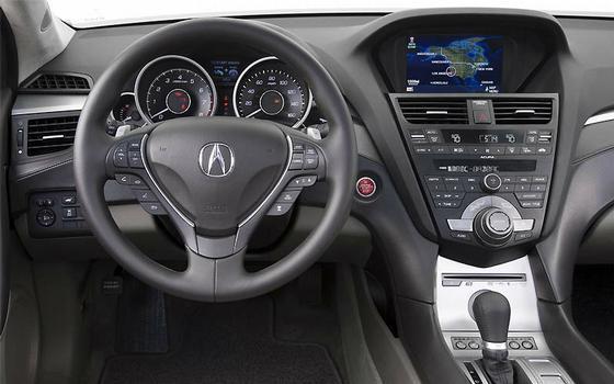 Interior do Acura ZDX