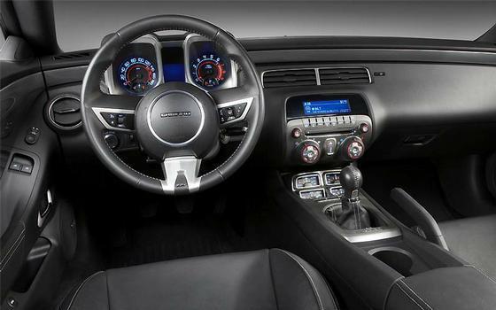 Interior do Chevrolet Camaro