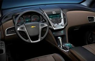 Interior do Chevrolet Equinox