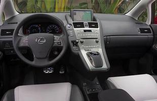 Interior do Lexus HS 250h