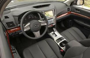 Interior do Subaru Outback