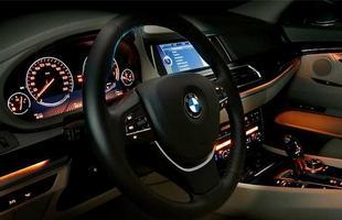 Interior do BMW Série 5 GT