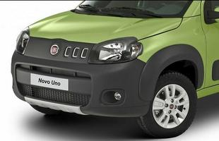 Para enrobustecer a versão Way, a Fiat distribuiu apliques plásticos pela carroceria