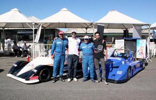 Paulo Jannuzzi, da Equipe Mobil Super (ESSO) Bel Lube e Márcio Oliveira, da Polimarcas - Pneus e Rodas