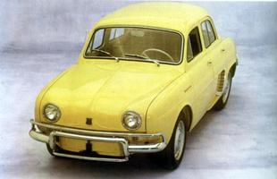 O Gordini foi uma versão aperfeiçoada do Dauphine que, de quebra, contava com 32 cv de potência (seis a mais)