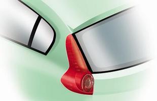 As lanternas manterão o elemento principal arredondado, mas subirão pelas colunas como na terceira geração do Ford Focus