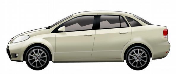 O Siena vai ganhar um jeito mais clássico, nos moldes do Linea, mas com uma parte frontal igualmente modificada em relação ao hatch