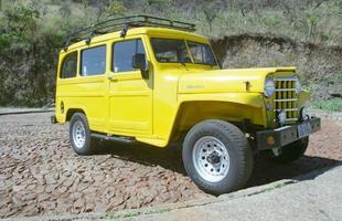 Primeiro modelo da Rural com algumas alterações de estilo como roda, para-choque e retrovisor