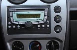 Sistema de som inclui mp3, entrada auxiliar, USB e para iPod