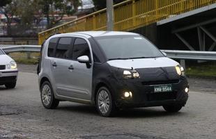 Nossa reportagem flagrou o Citroën Airdream em testes pelas estradas do Rio de Janeiro