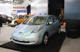 O conceito Leaf possui motor elétrico com potência de 80 kw