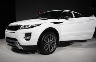 Range Rover Evoque foi um dos modelos mais esperados para o Salão deste ano