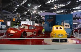 Os personagens do filme 'Carros' foi trazido da Disney pela Fiat