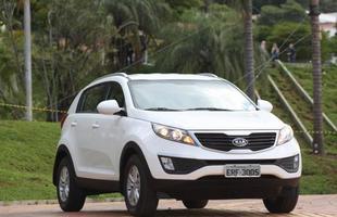 Novo Kia Sportage, eleito melhor do ano pela revista Auto esporte, superou o rival da Hyundai no prêmio da Editora Globo