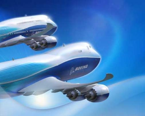 As primeiras imagens de divulgação do 747-8