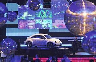 Lançamento do Beetle na Times Square