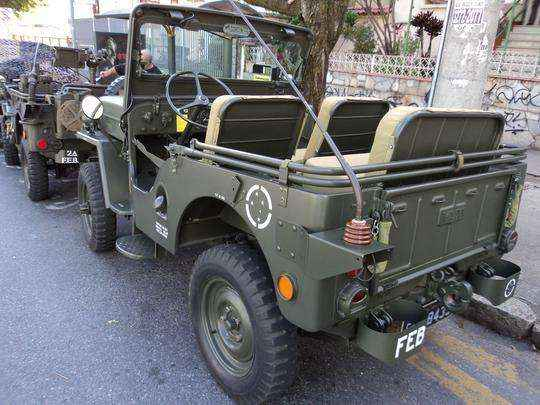 Willys MB-606 'Cara de Cavalo', 1954