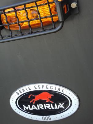 Detalhe do Agrale Marru�