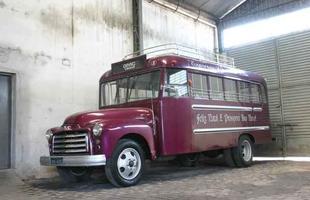 Acervo de ônibus antigos da viação Gardênica, em Pouso Alegre, MG